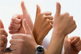 HiConnect Testimonials - Thumbs Up